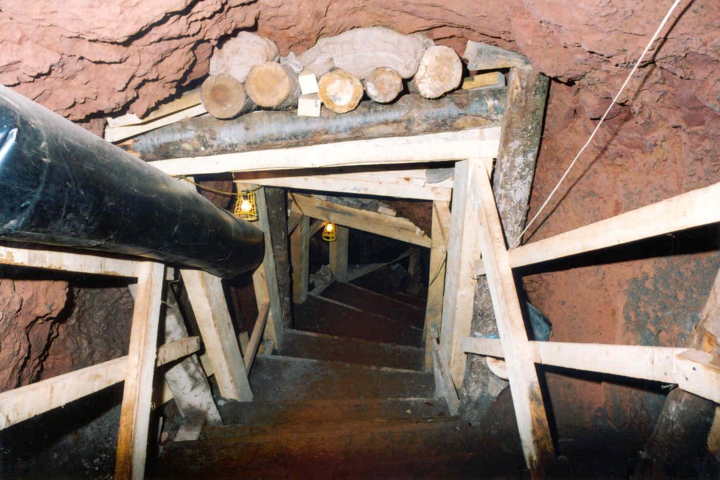 Underground Mine Support & Stabilisation - Forkers